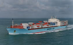 Maesk Line Container Ship